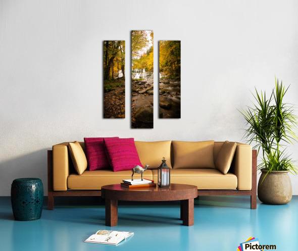 Egypt Falls Canvas print