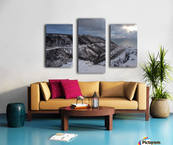 Snowy Skyline Canvas print