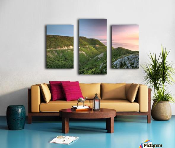 Skyline Sunset Canvas print