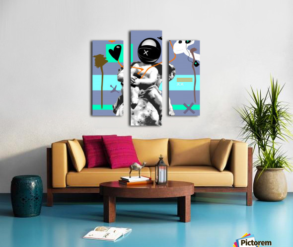 Waiting for Likes Canvas print