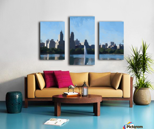 NY_CENTRAL PARK_View 070 Canvas print