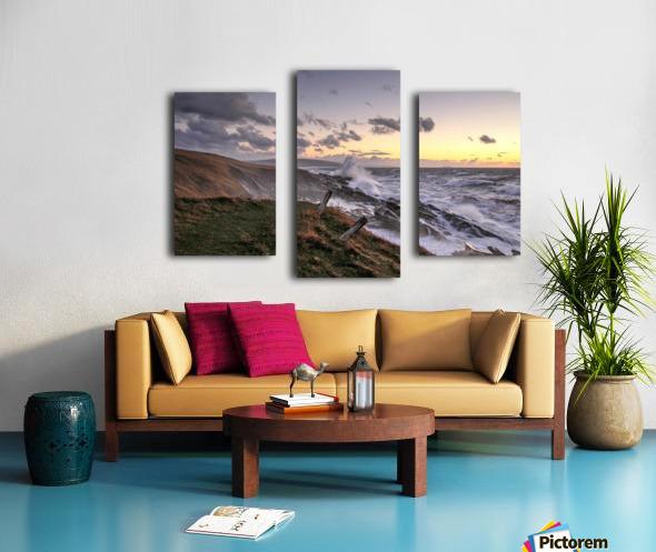 Furious Ocean Canvas print