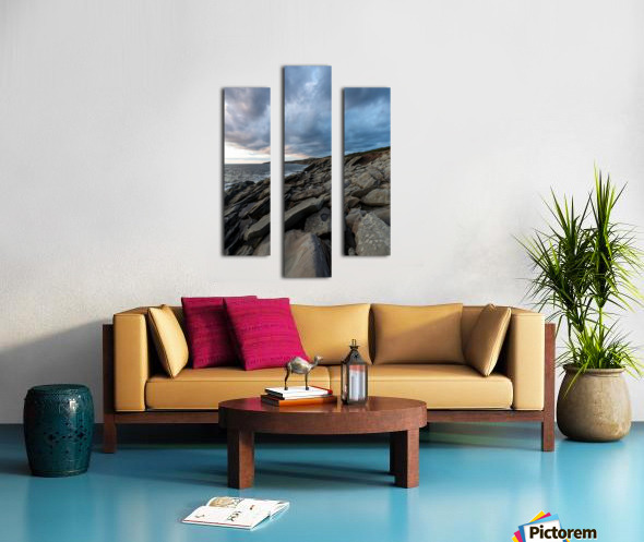 Drama in the sky Canvas print