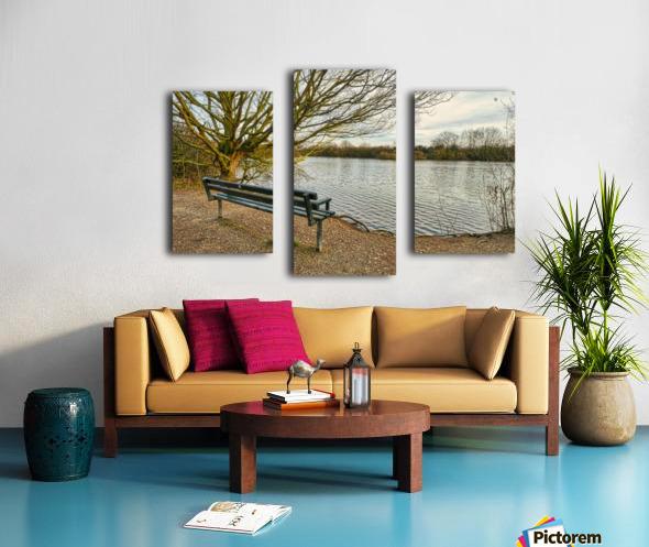 Empty view Impression sur toile