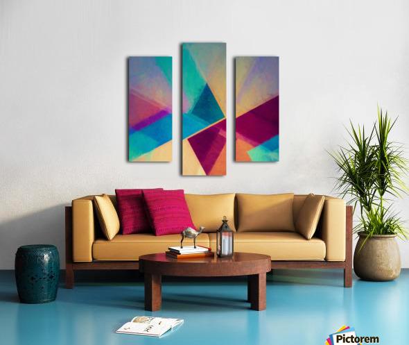 Obliquities Canvas print