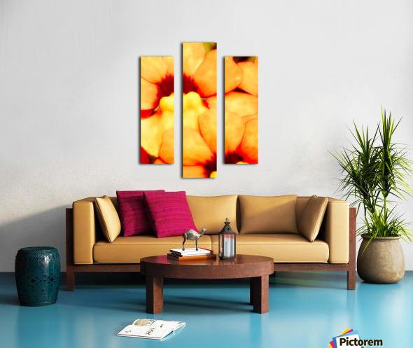 Yellow Mello Canvas print
