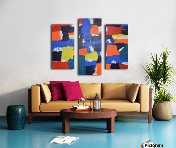 Abstract Painitng Canvas print