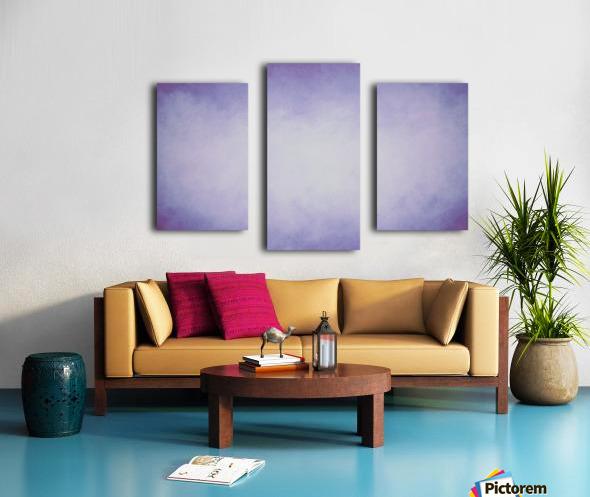 Lilac Mist Canvas print