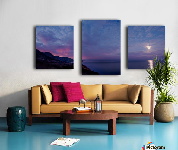 Clarity of the moon Canvas print