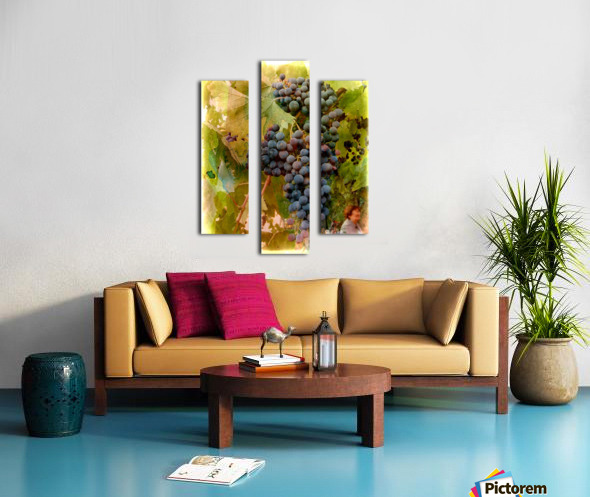 Waiting for Wine Canvas print