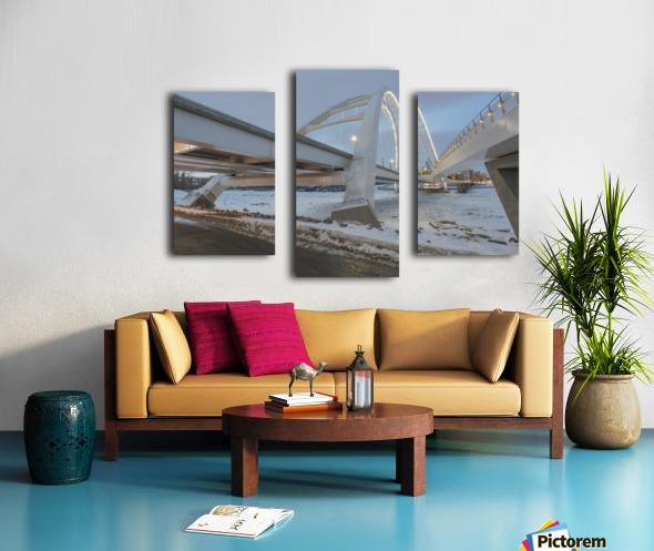 Walterdale_Bridge_NIK9885 Canvas print
