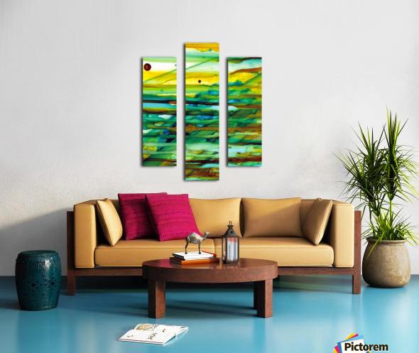 Hazy Rays Canvas print