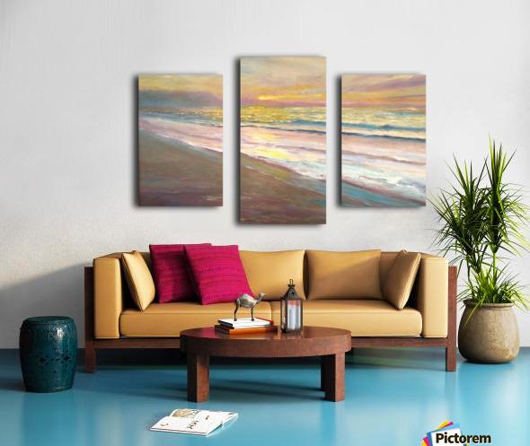 Pastel Morning Light  Canvas print