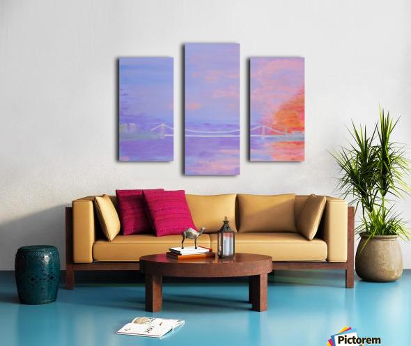 George Washington Bridge Sunrise Canvas print