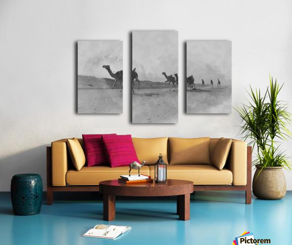 oman and traditional  Canvas print