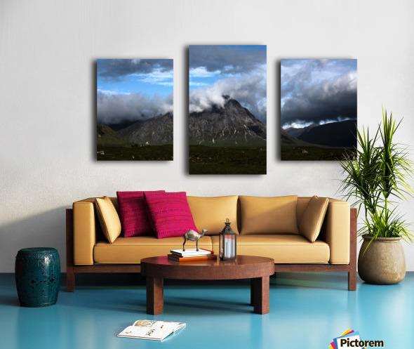 Glen Etive  Impression sur toile
