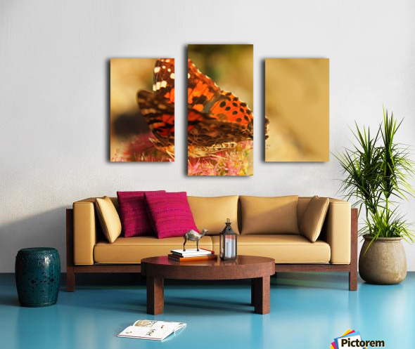Un Papillon Canvas print