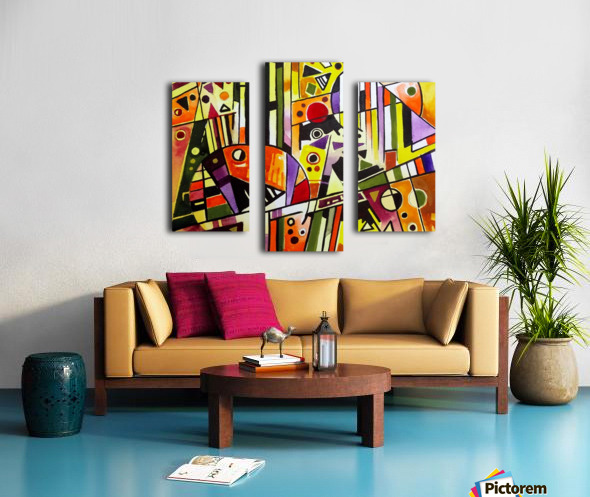 Absolute Abstracts 18 Canvas print