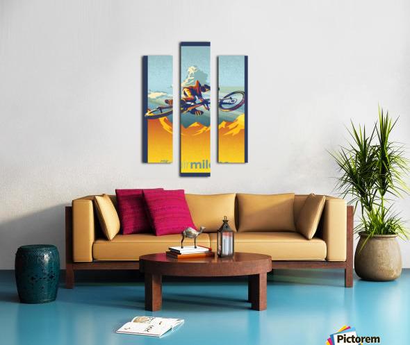 my air miles Canvas print