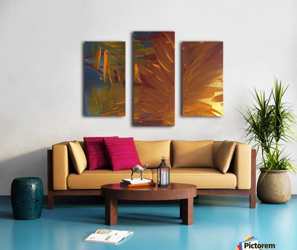 THE LEAF OF LIGHT Canvas print
