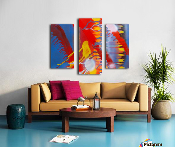 STEEL WORLD Canvas print