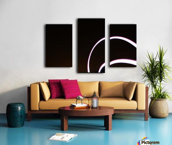 Arc Flash Canvas print
