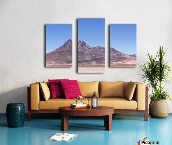 Atacama Volcano Canvas print