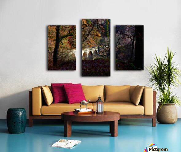 Viaduct River Gary Impression sur toile