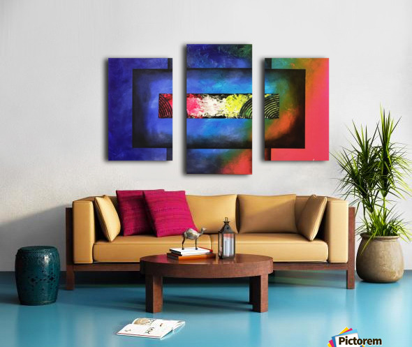 WINDOW OF PERCEPTION Canvas print