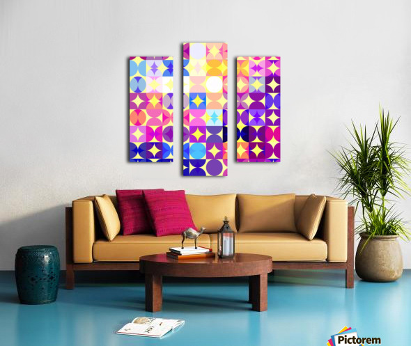 Geometric XXXVI Canvas print