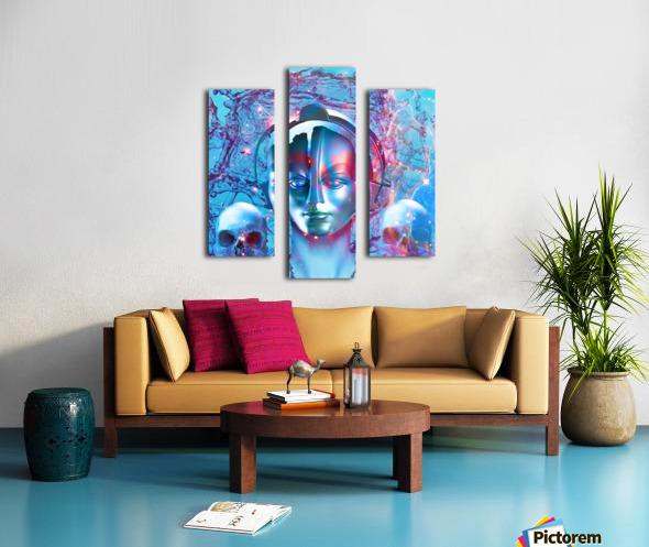 Robot Transcendence Canvas print