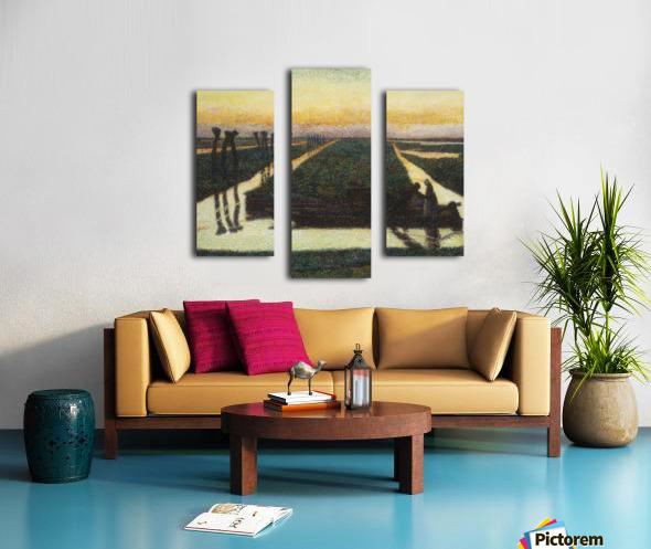 Toorop-broek Canvas print
