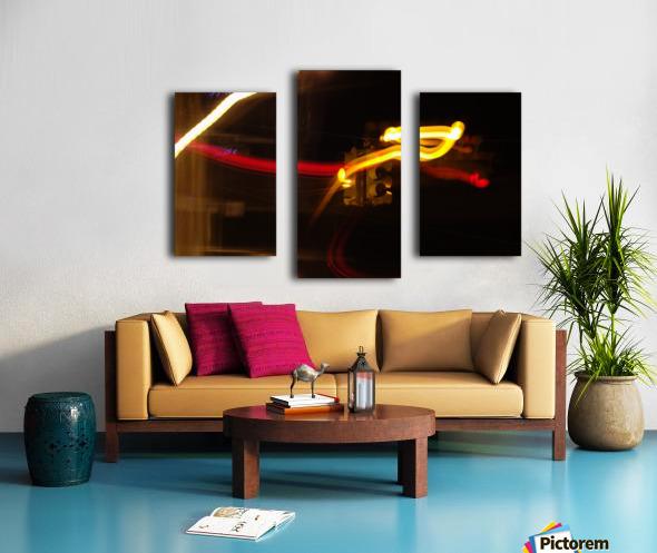 Speeding Stop Canvas print