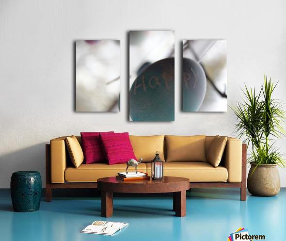 Happy 2 Canvas print