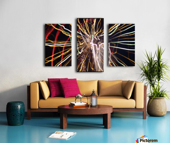 Streamers Canvas print