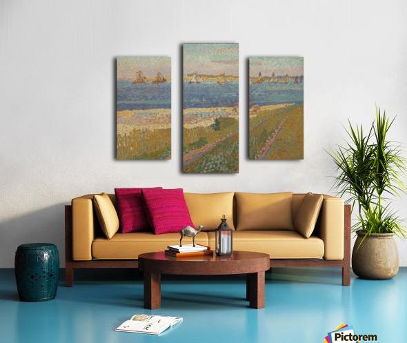The Schelde near Veere Canvas print