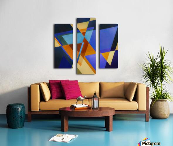 A Flight of Arrows Canvas print