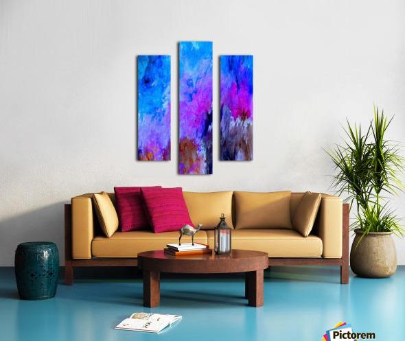 Eruption Quirk Canvas print