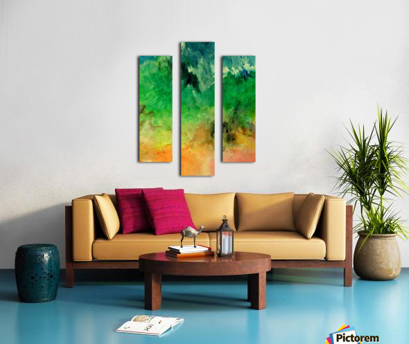 Forest Mountains Canvas print