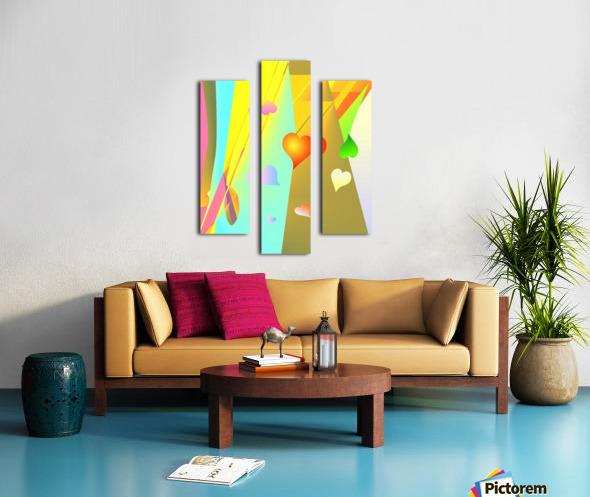 love bond 82918 H Canvas print