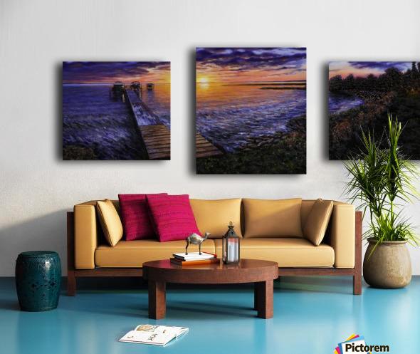 Sylvan Lake Canvas print