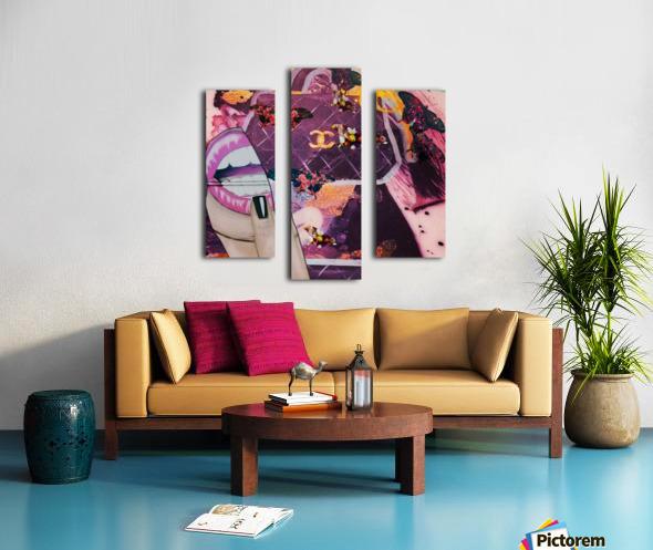 wetgwg Canvas print