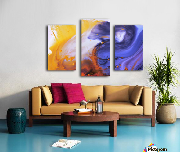 Liquid series 03 Canvas print