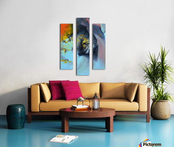 Liquid series 09 Canvas print