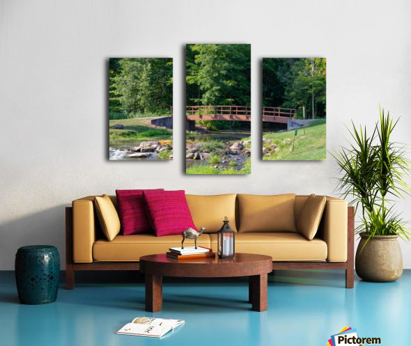 Holley Erie Canal Falls 5 Canvas print