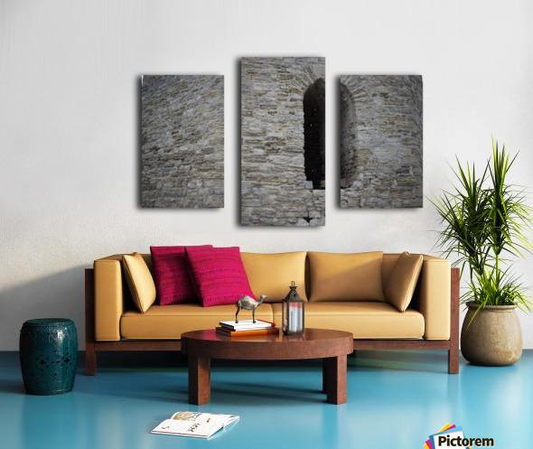 Castle Wall Canvas print