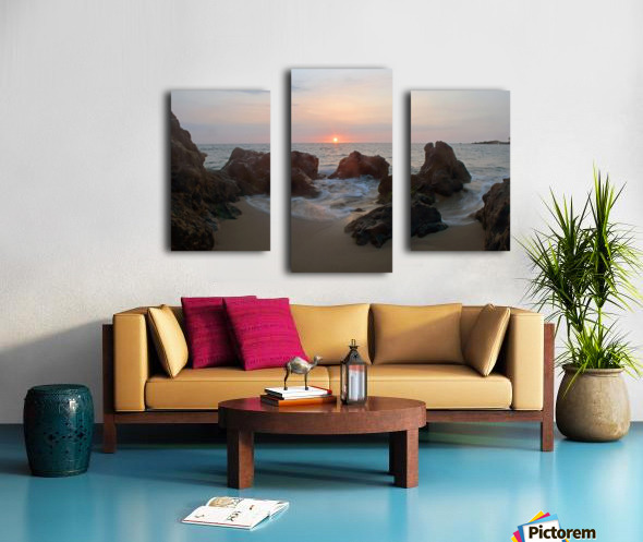 Tide Rolling Canvas print