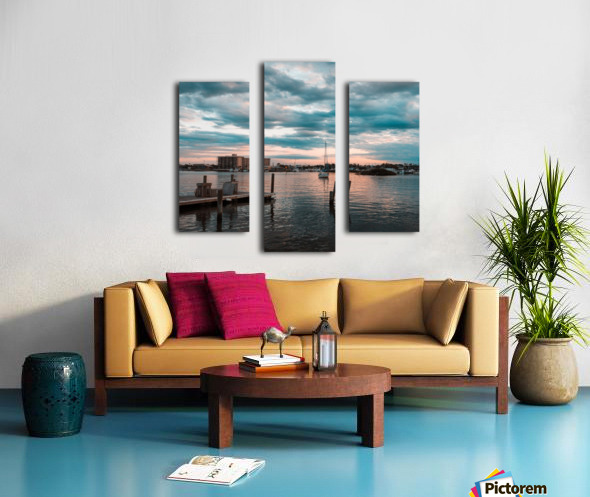 Blue Summer Canvas print