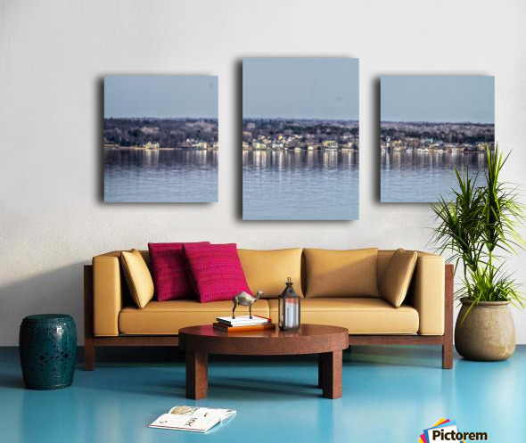 Romulus Panorama Canvas print