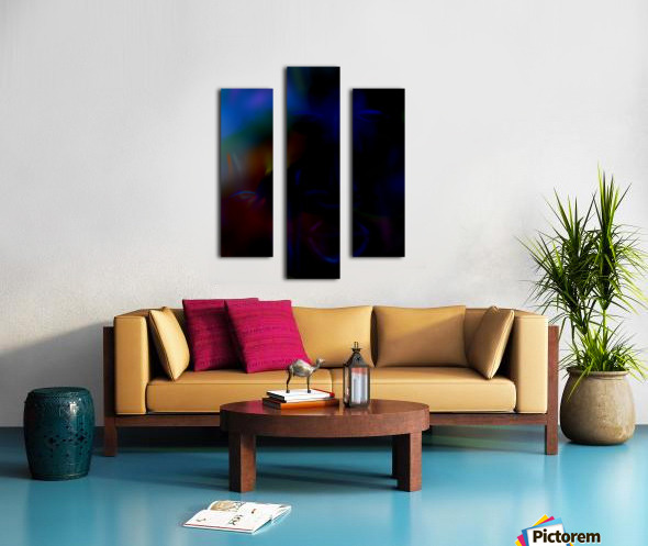 New face Canvas print